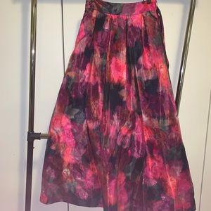Fancy dress maxi skirt